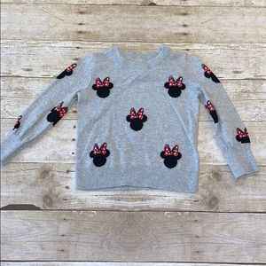 Gap Knit Minnie Mouse Sweater